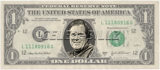 Bill Belichick Dollar Bill Mint Real $$ Celebrity Novelty Collectible
