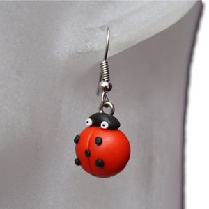 Earrings Lady Bugs Butterfly Bumble Bee Jewelry Cheap Wholesale