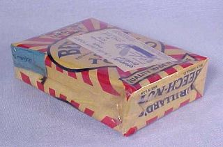 Rare Vintage BEECH NUT Chewing Tobacco Pouch FULL NOS FS with Pocket