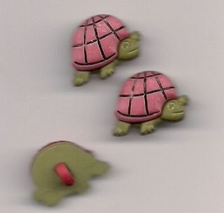 Turtle Novelty Button Sewing Quilting Crafting