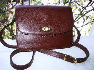 COACH Vintage Madison Spence Beechnut Leather Crossbody Messenger Bag