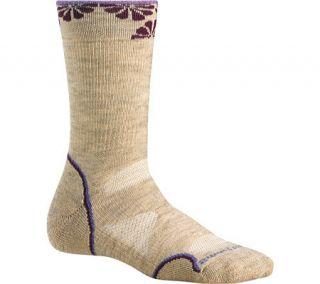 Smartwool PhD Outdoor Mid Crew Medium Cushion Women Wool Socks Oatmeal