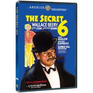 THE SECRET SIX 6 DVD Wallace Beery, Lewis Stone, John Mack Brown, Jean