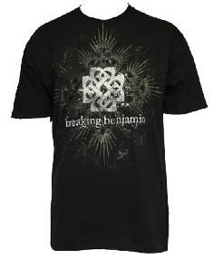 Breaking Benjamin T Shirt Shrine Logo Adult Medium M Tee Licensed New