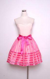 Betsey Johnson Evening Teen Vogue Dress Sz 8 Light Pink