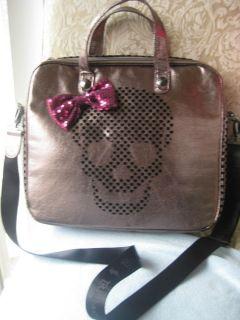 Betseyville Betsey Johnson Skull Laptop Computer Bag Case