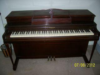 Lester of Philadelphia Betsy Ross Spinet Piano Era 1950S