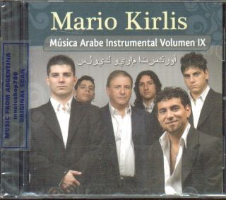 Mario Kirlis Instrumental Music Vol 9 CD Belly Dance