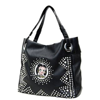 Betty Boop 1930 Signature Star Studded Tote Shopper Bag Handbag Purse