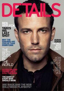 Details Magazine 2007 Ben Affleck Alyssa Milano Duran