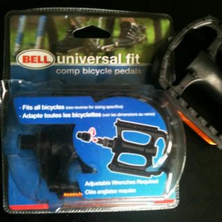 Bell Sports Universal Bike Pedals 1002298