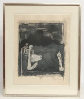 Ben Shahn Signed Numbered Lithograph from Rilkes Series 76 200