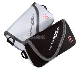 Black Carry Soft Case Bag for Nintendo DS Lite NDS Game
