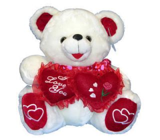 New Valentine Day Teddy Bear I Love You Stuffed Animal Plush Gift