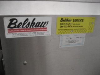 BELSHAW TG 50 DONUT THERMOGLAZER FRYER PROOFERS TZ 6 LOT OF 2
