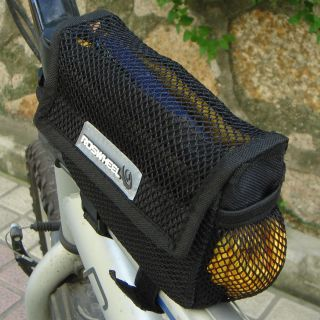Black Bike Bicycle Front Tube Frame Bag Waterproof Cover Cycling