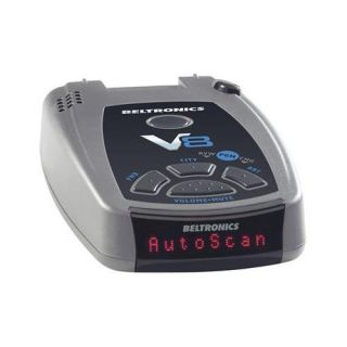 beltronics v8 radar and laser detector black manufacturers description