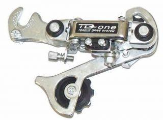 Silver TD One Bicycle Rear Derailleur Mountain Bike Parts 62