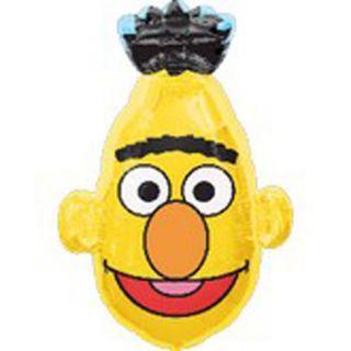 Bert Head Shape Mylar Balloon 30 Sesame Street ~ Friend of Ernie Elmo