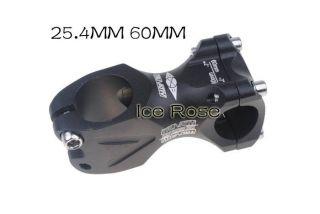New Cycling Bicycle Bike Aluminum Alloy Handlebar Stem 7° 60 x25 4mm