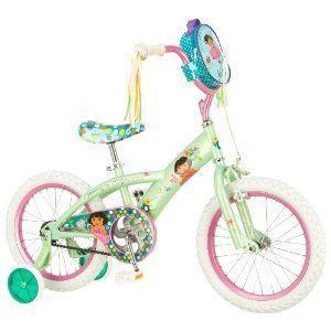 inch Nickelodeon Dora Training Wheels Ride on Toy Bike Bicycle
