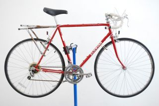 Caliente Road Bicycle Bike for Parts Steel Red 27 Wheels