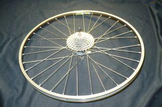 Bike Wheel Set Rear Rim Mavic with Shimano Hyper Glide Gears