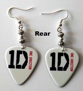 Guitar Pick Necklace Keyrings Key Chains Guitar Pick Earrings Packets
