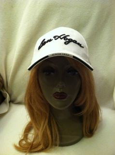 Ben Hogan ball cap hat white with name across front & has since 1953
