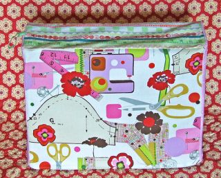 Singer Featherweight Sewing Machine Cover No. 712, sew much fun