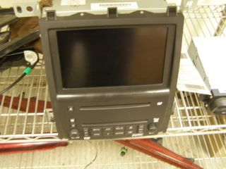 NAVIGATION DVD RADIO UNIT DISPLAY SCREEN 05 06 07 CADILLAC STS Option