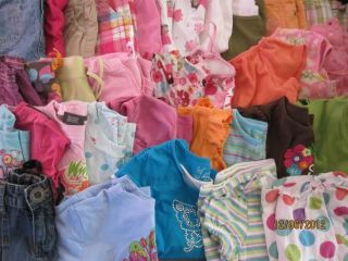 Big Lot Girls Sz 5 5T Spring Summer Clothing Lot