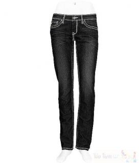 New Big Star Womens Jeans Vintage Black Sweet Skinny Leg Stretch 29R