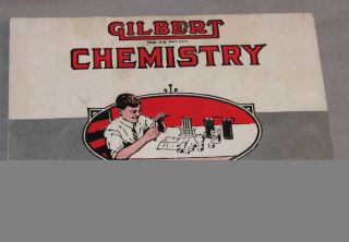 Vinage 1936 Gilber Chemisry for Boys Book A.C. Gilber Co.