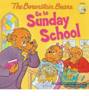 The Berenstain Bears Go to Sunday School 9780310712480