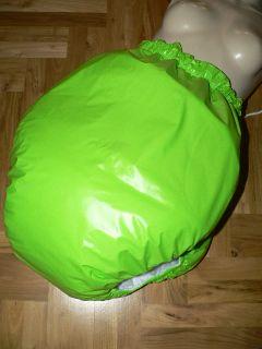 Adult Baby PVC Gummihose Spreizkern Rubber diaper