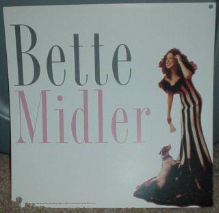 Bette Midler Bathhouse Betty Promo Poster Flat