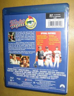 Major League Blu ray HD Movie Brand New, Charlie Sheen, high rated A+