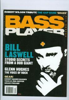 2010 Bass Player Magazine Bill Laswell Studio Secrets/Glenn Hughes