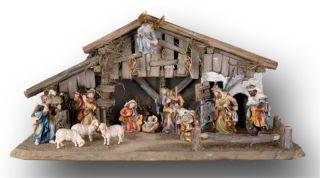Bernardi Bavaria 4 7 15 Piece Nativity Set H 5000FA 12