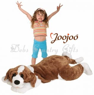 Jumbo Kids 5 Feet Long St Bernard Plushy Soft Dog by Joojoo