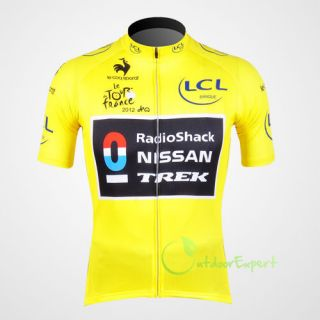 2012 Bicycle Team Bike Cycling Jersey Sports Wear Shirts Jacket Short