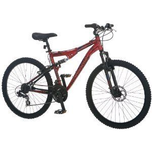 XR200 Bike 26 Inch Red Bicycle Mountain Road Cycle 21 Speed Shifters