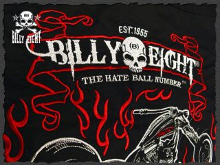 billy Eight★mens Casual Workshirt Rockabilly Tattoo Work Shirts