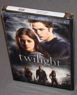 Twilight 2 DVD Special Edition New SEALED Pattinson