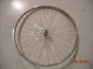 26 Chrome Front Bicycle Bike Steel Wheel Bicycle Parts B253