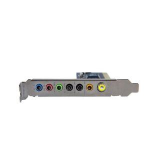 PCI Digital Surround Sound Adapter Card 24 Bit Audio Card