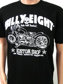 BILLY EIGHT SIZE M VINTAGE MOTORCYCLE TEE WEST COAST CHOPPER CUSTOM