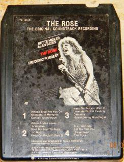 Bette Midler The Rose Soundtrack Tested 8 Track Tape