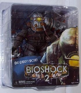 Bioshock 2 Big Daddy Rosie Action Figure New In Box NECA 2010